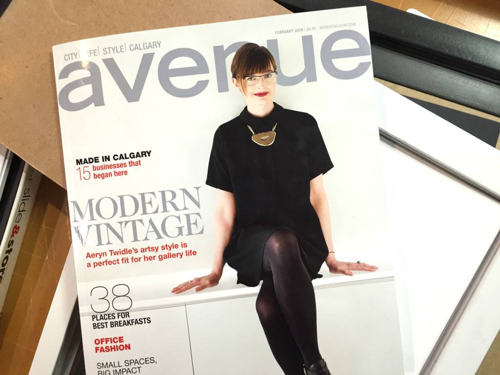 Avenue Magazine Article