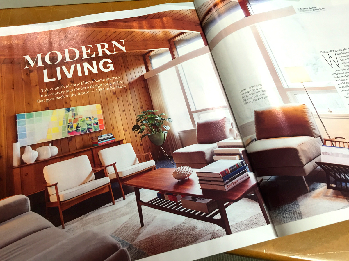 Trend House in Calgary Avenue Magazine February 2016