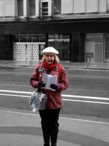 Cynthia Klaassen, our tour guide