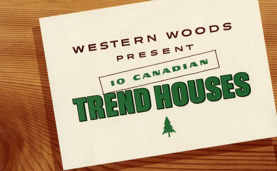 Cover of the Trend House program brochure