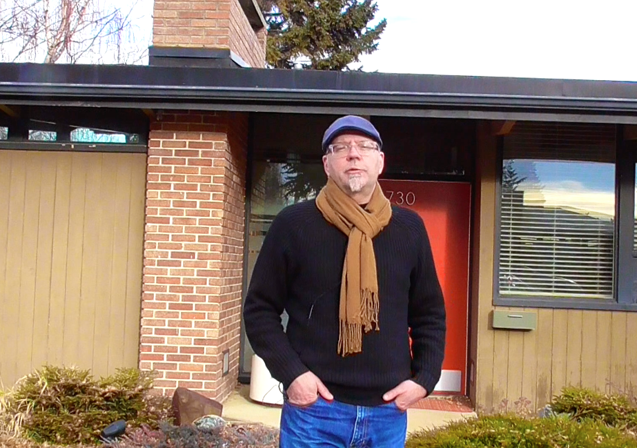 Frame from video tour of the Calgary Trend House