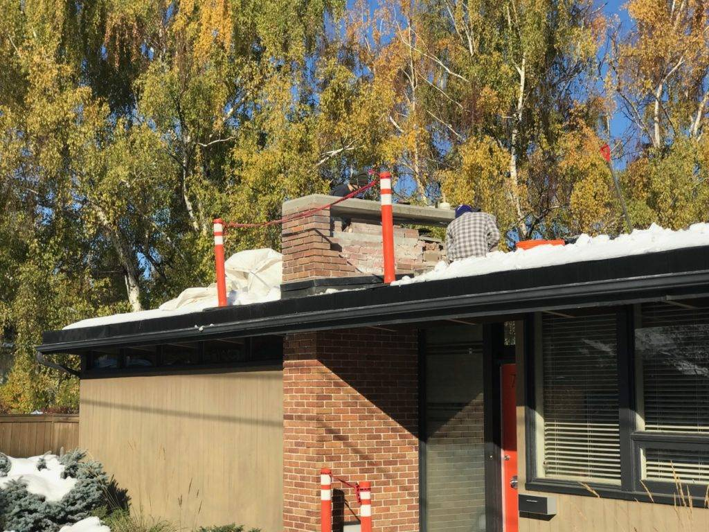 Chimney Restoration Fall 2018