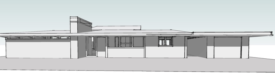 The Trend House front elevation