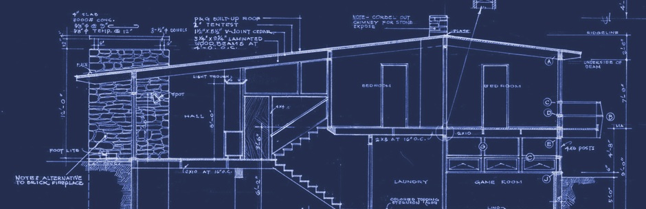 Blueprints for the Calgary Trend House