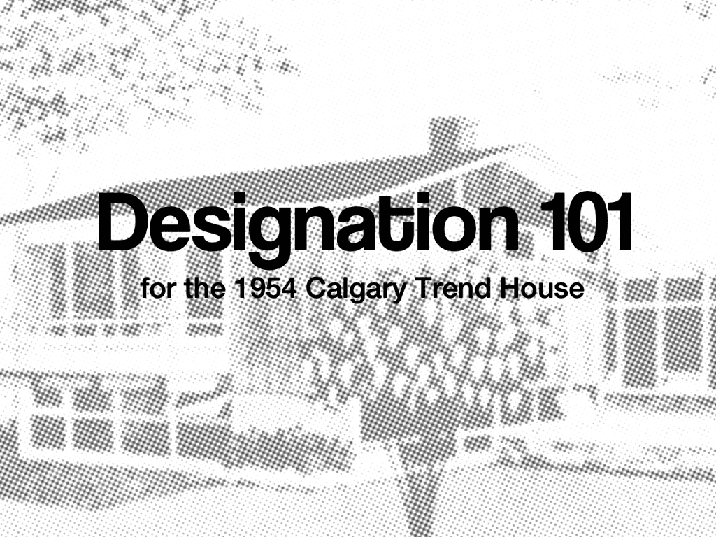 Designation 101 Part 1 – Why did we designate?