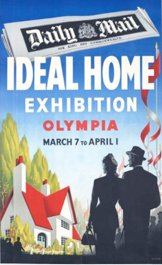 Ideal Home Exhibition Poster 195_