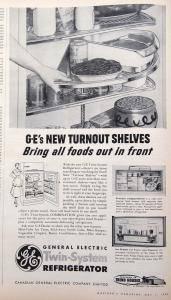 Macleans-May-1954-GE-Fridge