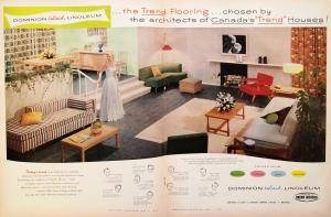 Macleans-May-1954-Linoleum-Double-Spread