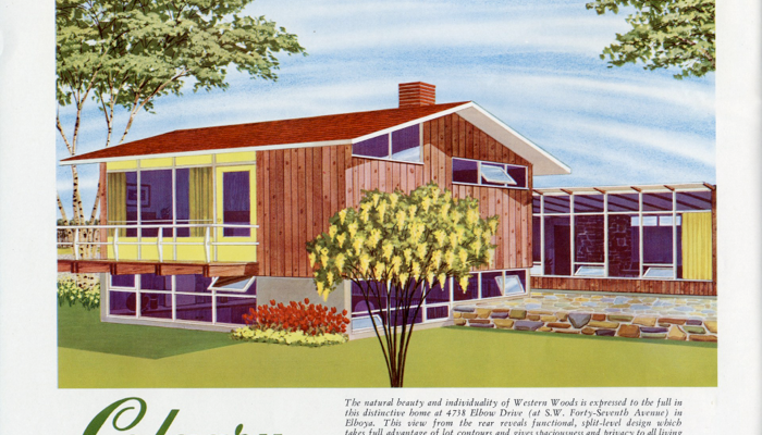 Image of Calgary Trend House from the Trend House Program Brochure